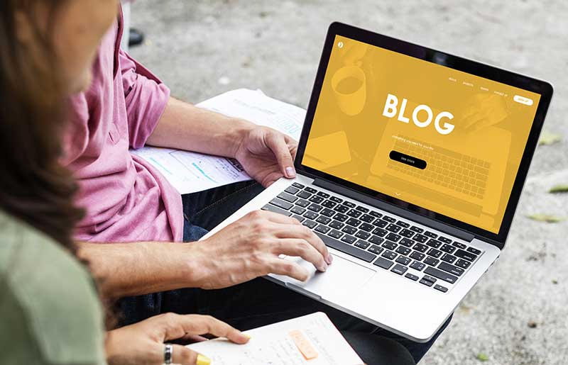 Lancer un blog en ligne