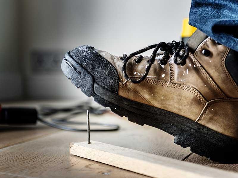 chaussures de sécurité EPI